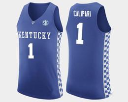 d611f483ba33 John Calipari Men s Kentucky Wildcats Malik Msonk Rajon Rondo White Nick  Richards Blue Stitched College Basketball Jersey