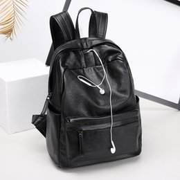south korean style backpacks Promo Codes - BOSTANTEN 2019 backpack fashion trend Japan and South Korea travel bag ladies backpack Korean campus student bag