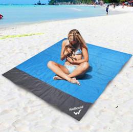 tapete de jogo de tecido para crianças Desconto Cobertor de Praia à prova d 'água Ao Ar Livre Portátil Tapete De Piquenique Acampamento Chão Tapete Colchão de Acampamento Ao Ar Livre Tapete de Piquenique cobertor
