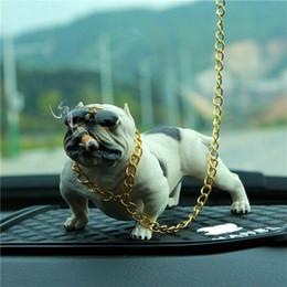 SıCAK Bully Pitbull Köpek Araba Iç Dekorasyon Pano Süsleme Moda Komik Sevimli Ev Dekorasyon Otomobiller Aksesuarlar nereden