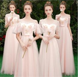 Gelinlik Giydirme Yeni Stil Kalın Pembe Kız Kardeş Grup Elbise Düğün Nedime Elbise Kış Uzun Tarzı nereden