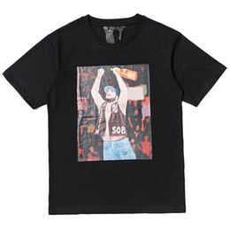 6d3180a525e6 ASAP ROCKY x VLONE T-shirt Men Women t shirt Harajuku tshirt Hip hop  Streetwear Brand Summer Cotton Clothing Printed Yams Day Tees Tops 2019