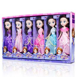 Bambole confuse online-25CM Barbie bambola confusa bambola giocattolo 6 stili principessa abito bambole per grandi occhi Regalo di compleanno per bambina