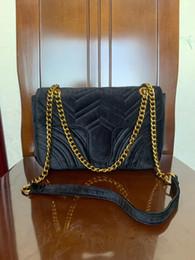 2020 borse di velluto 2018 nuovo lusso ARRIVATO borse sacchetti delle donne delle borse del progettista piccolo messaggero velluto borsa ragazza velluto feminina borse di velluto economici