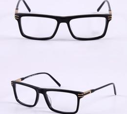 Caja de tortuga online-Hombres Gafas ópticas Marcos MB Marca Diseñador Gafas de montura cuadrada para mujer Negro Tortuga Miopía Gafas MB8032 con caja original