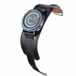 Шестерня s3 онлайн-22 мм 20 мм натуральная кожа смотреть Band манжеты ремешок браслет для Samsung Gear S3 Gear S2 HuaWei Watch 2 Huami AMAZFIT ремешок для часов