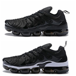 Nike Vapormax air max airmax TN Plus Mens Womens Sports Scarpe da corsa Sneakers Runners Chaussure Reverse Sunset Cool Grigio Triple White Sii fedele da pizzi fluorescenti fornitori