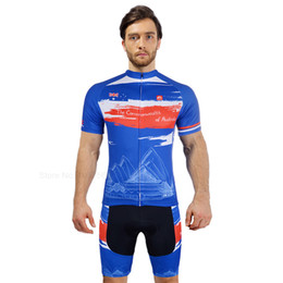 VEOBIKE Pays 2018 Pro équipe Hommes cyclisme maillot manches courtes séries Cyclisme Vêtements cycliste VTT Vêtements de vélo Quick Dry T-shirt ? partir de fabricateur