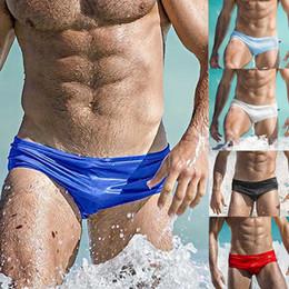 51bdc5aa79d74 Summer Man Swimming Trunks Briefs Low-Waist Sexy Man'e Swimwear Beach  Bikini Men Swimsuits Quick Dry Male Calzoncillos #YL