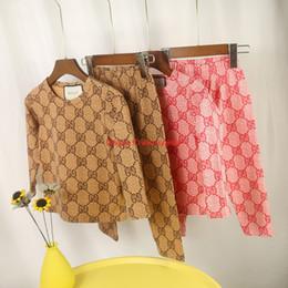 Tuta sportiva Abbigliamento per bambini designer di moda per bambini Servizio completo per la casa stampato Ottimo tessuto Lycra 90-150 da