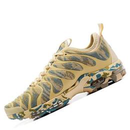 brand new a07eb e8e9f NIKE AIR MAX PLUS TN ULTRA ¡Nuevo! 2019 Plus TN Ultra Camo Zapatillas de  running Para Hombres Mujeres Verde Amarillo Azul Jogging al aire libre  Diseñador de ...