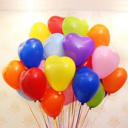 Ballons Coeur Ballons En Latex Ballons Décoratifs Pour Fête De Mariage Expressions Saint Valentin Anniversaire Décoration 12 pouces (100 pièces) ? partir de fabricateur