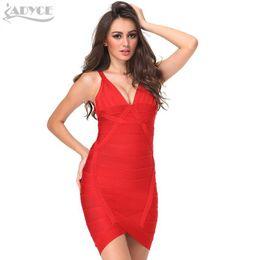 c64c6e4da81840 2018 sexy neue sommer dress frauen sleeveless v-ausschnitt backless  unregelmäßigen roten promi bodycon abend party prom verband dress