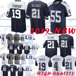 21 Ezekiel Elliott Dallas 55 Leighton Vander Esch Cowboys jersey 4 Dak  Prescott 19 Amari Cooper 82 Jason Witte jerseys High-quality 2019 on sale d5ca7e201
