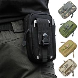 Multi Purpose strumento Holder EDC Pouch Camo sacchetto di nylon di utilità tattico marsupio borsa del telefono mobile della cassa del cellulare
