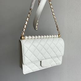 Bolsos de marca negro blanco online-Venta caliente Marca de moda Bolsos vintage Bolsos para mujer Bolsos de diseño para mujeres de cuero negro blanco bolsa de cadena cruzada cuerpo bolsas de hombro