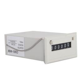 medidor de luz sonora Desconto CSK6-NKW Contador Eletromagnético 6 Dígito Pulso Eletrônico Contador DC 36V Ferramentas