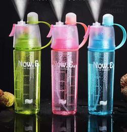 Sprey su ısıtıcısı Taşınabilir sızdırmaz spor şişe Şeker renk nemlendirme sprey şişesi Çevre Dostu plastik bardak açık kamp kupa CLS505 cheap eco friendly plastic cups nereden çevre dostu plastik bardak tedarikçiler