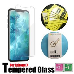 tela samsung s7262 Desconto Para o novo iphone xs xs max iphone x 10 8 7 6 s plus qualidade superior filme de vidro temperado protetor de tela 9 h 2.5d para galaxy j3 j7 prime withpackage