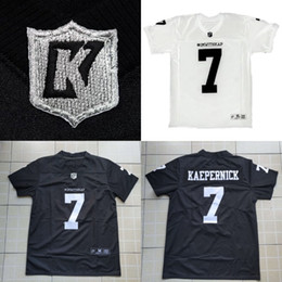 f5a88c82ef2 Imwithkap Jersey #7 Colin Kaepernick I'm With Wap Football Jersey Custom  Men Women Youth All Stitched Black White S-4XL Free Shipping