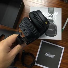 2019 marshall bluetooth Marshall Major II 2.0 Bluetooth Casque Sans Fil DJ Casque Deep Bass Isolation Du Casque Écouteur pour iPhone Samsung Téléphone Intelligent promotion marshall bluetooth