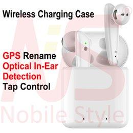 GPS Rename AP2 AP3 Mini TWS Bluetooth Earbuds H1 Chip de carregamento sem fio Caso Optical In-Ear Detecção Pods PK Ar 2 3 Pro i200 i12 i9 i500 de