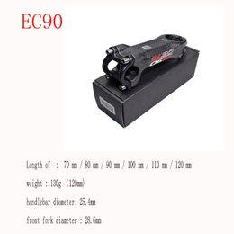 2019 17-grad-fahrrad-carbon-stämme EC90 Kohlefaser-Standrohr-Gebirgsstraßen-Fahrradständer 28,6-25,4MM Wasserhahn-Standrohr aus super leichtem Carbon