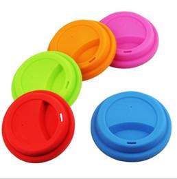 Nuovo arrivo coperchi in silicone sano per tazze tazze copertura in silicone tazza coperchi tazza in silicone all'ingrosso di fabbrica da