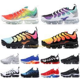 wholesale dealer 41418 cad5c Nike Vapormax Meilleur TN Plus Chaussures De Course Hommes Femmes Laine  Gris Jeu Royal Tropical Sunset Creamsicle Designer Baskets Chaussures De  Sport ...