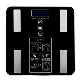 BF1606-B 180kg / 100g Balance de graisse corporelle numérique Analyseur de santé Fat Muscle BMI Balance de pesée électronique noire ? partir de fabricateur