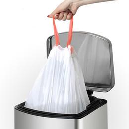 2019 pacote de lama Sacos de Lixo para uso doméstico Branco Portátil Grosso Saco de Classificação Para Casa Cozinha Escritório Cesta de Resíduos Sacos de Lixo Pacote