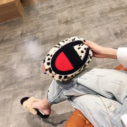 bolsas para adolescentes Desconto Da cintura para Luxury campeão das senhoras Crossbody Belt Bag Leopard Plush Packs sacos de moda Meninas Adolescentes Fanny da bolsa Totes 3ColorC102101