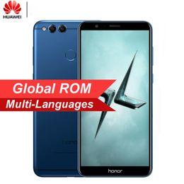 "2019 senioren handys Global ROM Huawei Honor 7X 5.93 ""Vollbildschirm 2160 * 1080pix OTA Update Handy Octa Core 2.4GHz Dual Rear Camera 16MP"