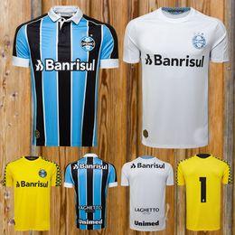 2222aa73261 soccer goalkeeper shirts Promo Codes - 2019 2020 Gremio home GEROMEL  EVERTON Best Soccer Jerseys 19