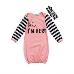 2019 детские комбинезоны Newborn Infant Baby Girl Outfit Jumpsuit Sleeping Bag Sleepwear Set дешево детские комбинезоны