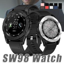2019 новые умные часы u8 Новые смарт-часы SW98 Bluetooth Smart Watch HD Screen Motor Smartwatch с шагомером Camera Mic для Android IOS PK DZ09 U8 в коробке дешево новые умные часы u8