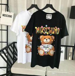 T shirt donna Top qualità Holiday Lights Teddy bear T-shirt per il tempo libero T-shirt manica corta casual O Neck da teddy bear t shirts fornitori