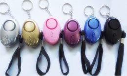 Canada Alarmes personnelles Alarme de sécurité à LED pour dispositif anti-loup pour femme Alarme de voiture pour enfant âgé Offre