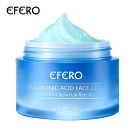 essência de pérola Desconto EFERO Face Cream 30g Ácido Hialurônico para Face Cream Nutrir face Essência Soro Hidratante Cuidados com a pele