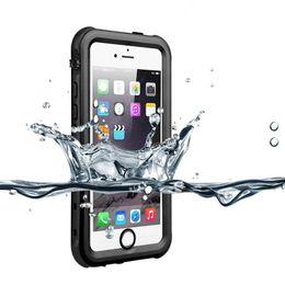 toque de saco impermeável Desconto Caso selado à prova d 'água para o iphone 5 5s se toque à prova de choque id case capa para iphone 5s 5 mergulho bolsa de natação caso original