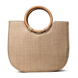 fed1e0ebb2 Fashion New Women Handbag Light Weight Straw Bags Knitting Style Luxury  Handbags Designer For Lady Crossbody Bags High Quality designer straw  handbags on ...