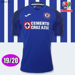 jersey cruz Rabatt Neu eingetroffen 2019 2020 Mexiko Club Cruz Azul Liga MX Fußball Trikots 19/20 Heim Blau Auswärts Weiß Fußball Trikots Fußball Trikots