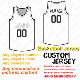 66d859fc5 2019 4xl basketball jerseys 2019 Custom Basketball Jersey anynumber anyname  flex base Coole Basis genäht Größe