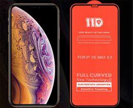 2019 cas 3d pour huawei ascension 11D Protecteur d'écran en verre trempé courbé complet pour Iphone X XS MAX XR 6 7/8 Plus I Phone 8plus pour Samsung Huawei