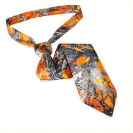 Deutschland CAMO Bräutigam Krawatten Kundenspezifische Krawatten für Männer und Jungen aus Satin Versorgung