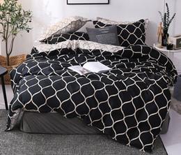 juegos de cama luna estrellas Rebajas El nuevo Alto grado de cama Textiles para el hogar Three-piece caliente sin hoja de la cubierta del edredón funda de almohada estilos múltiples Twin180 * 220cm * 230cm Full200