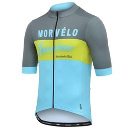 4a7fe97ce Morvelo Retro classic cycling Jersey 2019 Maglia ciclismo Spanish cycling  clothing road bike Jersey Anti-sweat MTB shirt