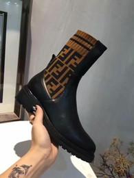 mocassim de pano preto Desconto 2019 Designers ff Sapatos Da Marca Das Mulheres Sapatilha Mocassins Moda High-top pano Elástico Branco Preto Vermelho Azul Casual Esporte Sock Shoes 35-42