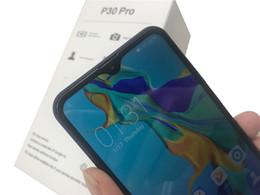 2019 mtk telefono cellulare sim Goophone P30 Pro 6.5inch Android 9.0 Visualizza falso 8GB 128GB 4G LTE 3G WCDMA sbloccato SmartPhone con la scatola di vendita al dettaglio