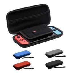 Cajas de juegos nintendo online-2019 venta caliente para Nintendo Switch Juego Bolsa de transporte Estuche rígido EVA shell de alta calidad portátil bolsa de transporte bolsa protectora bolsa interruptor